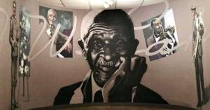 Mural of George Washington Carver's life