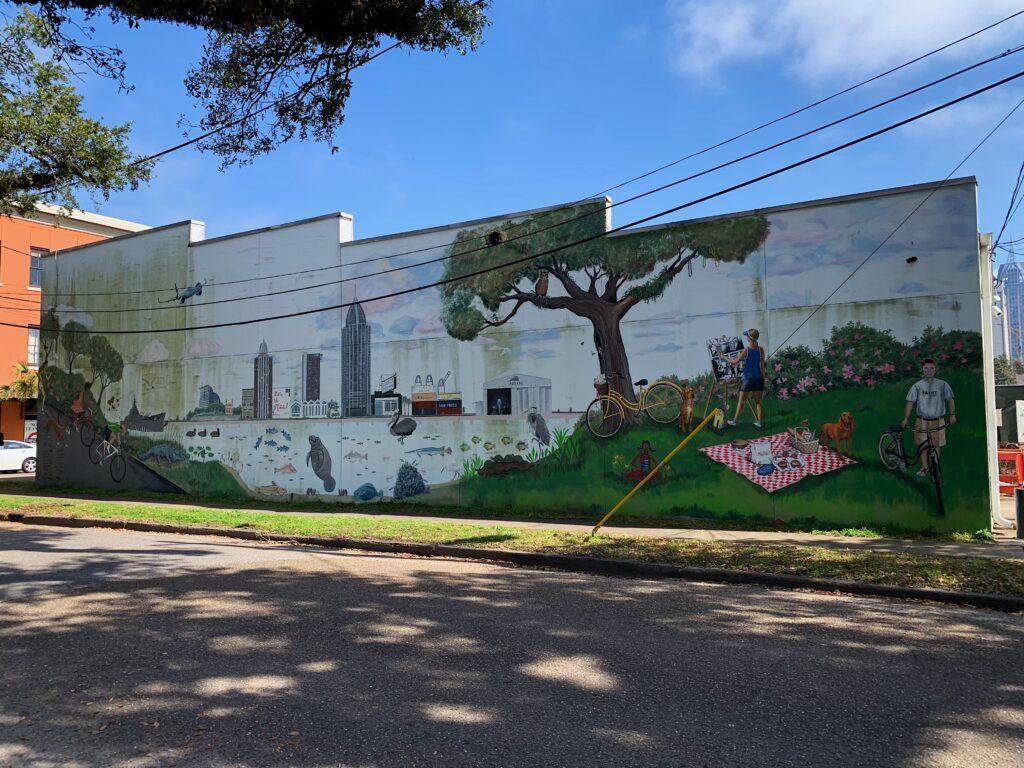 Img 4500 Mardi Gras, Mobile, Murals, Port City