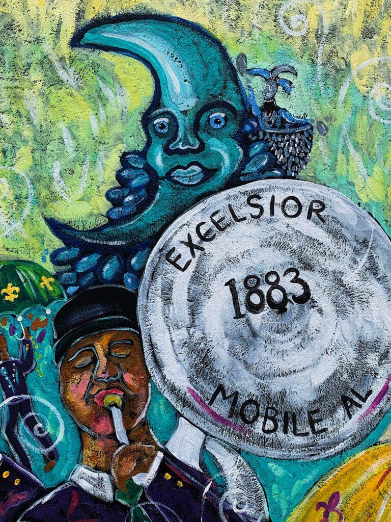 Img 4859 Mardi Gras, Mobile, Murals, Port City