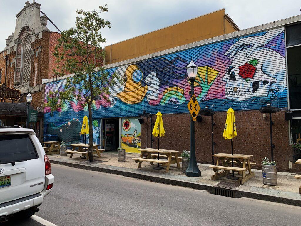 Mural At Loda Bier Garten