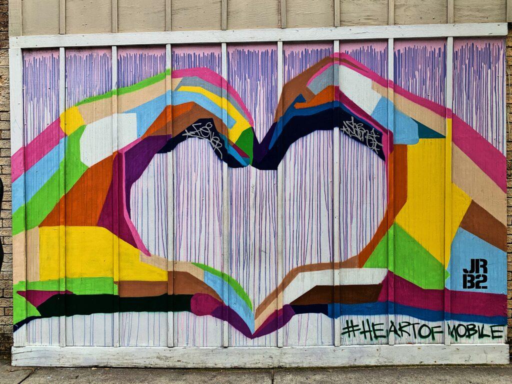 Heart Of Mobile Mural