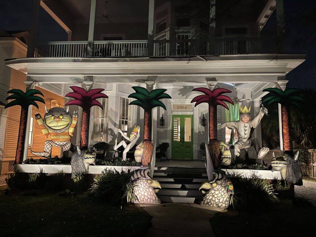 Wild Things - Mobile Porch Parade - Mardi Gras