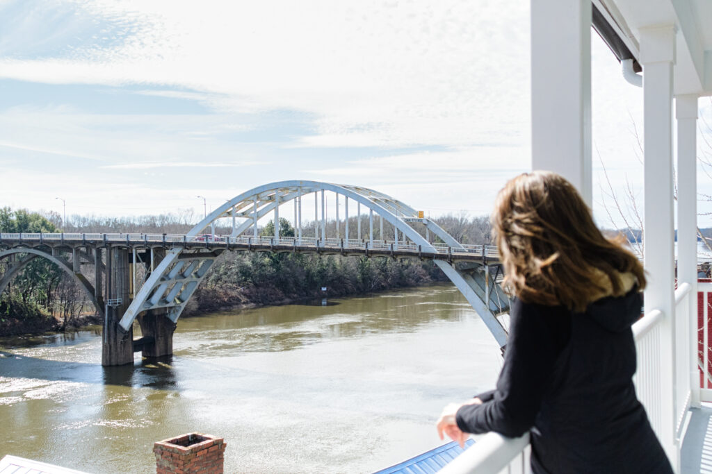 Photo Of The Edmund Pettus Bridge In Selma, Alabama