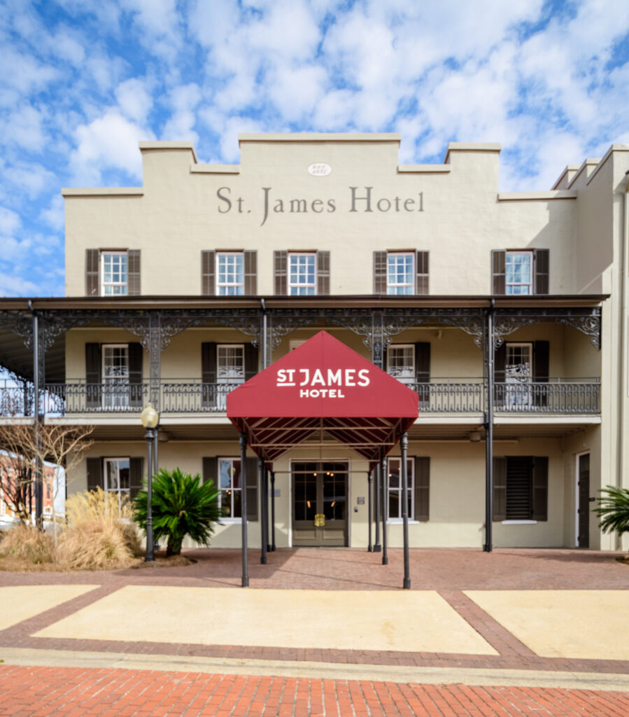 Main Entrance Of St. James Hotel