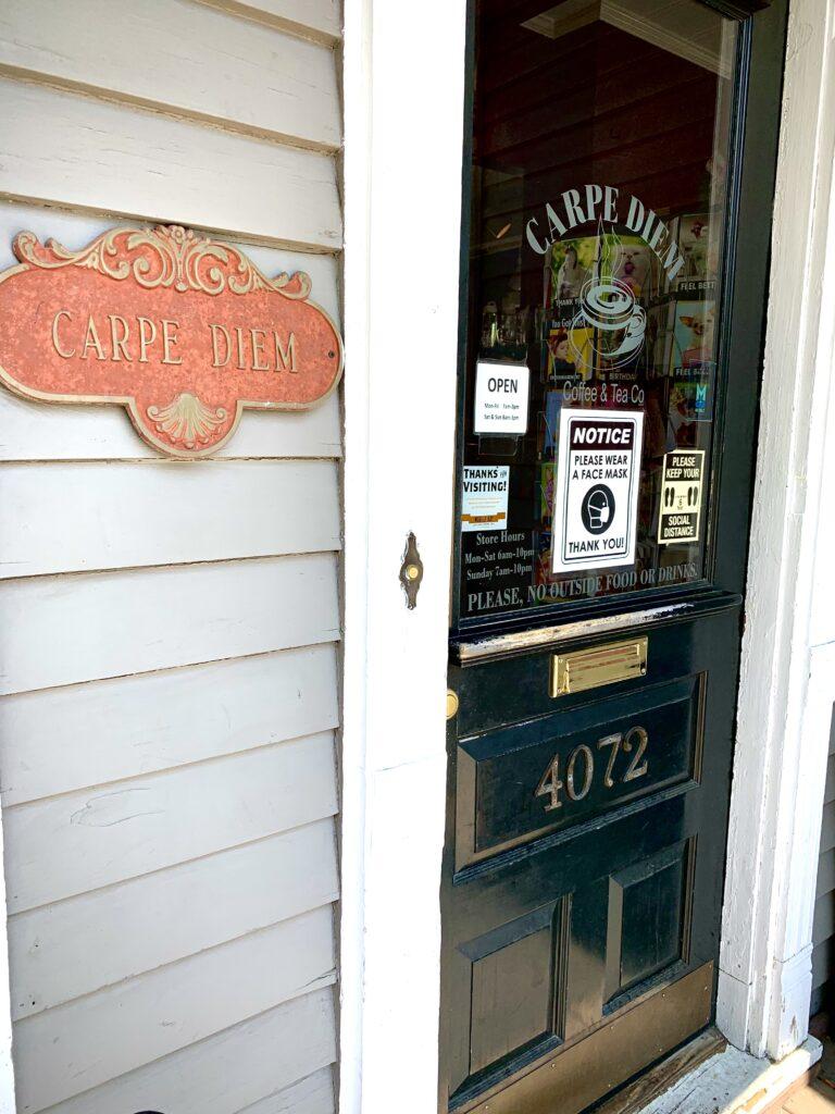 Carpe Diem Coffee Shop, Mobile Al.