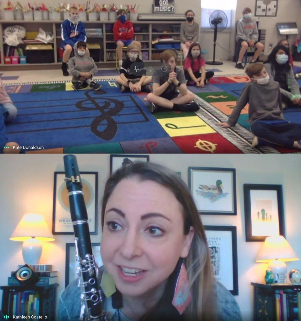 Aso Teaches An Vestavia Elementary School For Their Aso Virtually Inspired Program