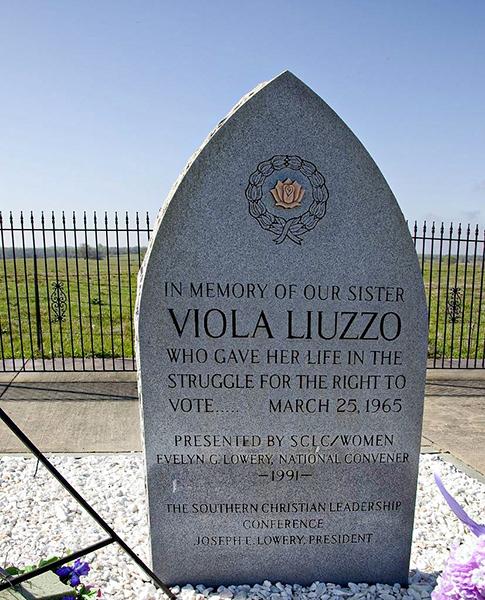 Viola Liuzzo Monument Designed Maya Lin