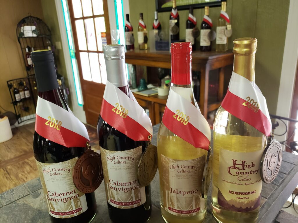 High Country Cellars In Three Alabama Wine Trails