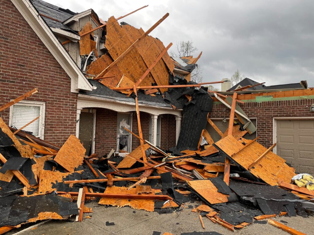 Tornado Disaster In Alabama
