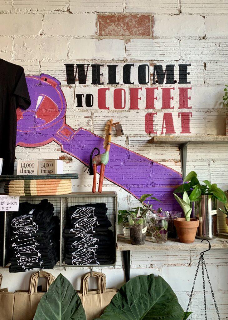 Coffee Cat Wall