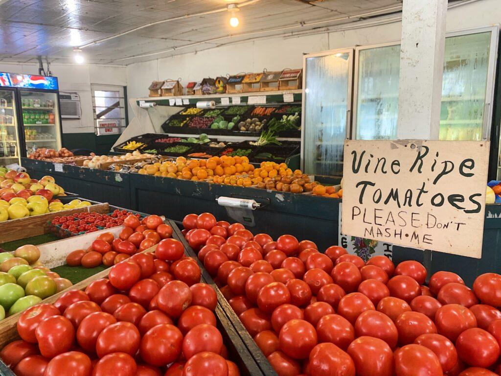 Inside Of Opelika Farmers Market