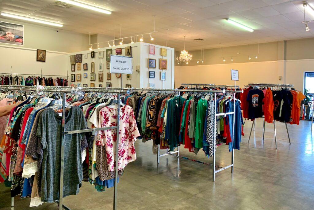 Inside Of Harvest Thrift
