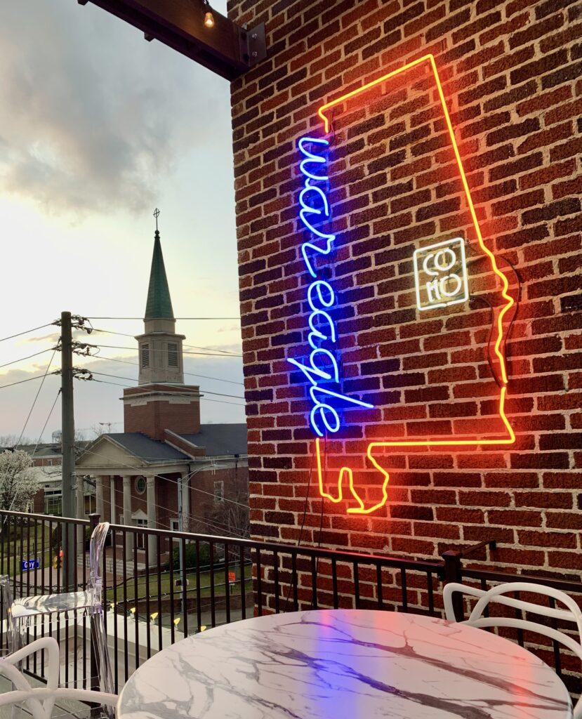 War Eagle Alabama Sign