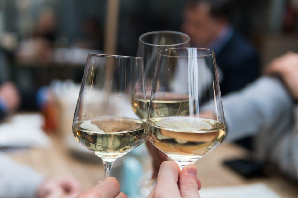 Wine Glasses Together