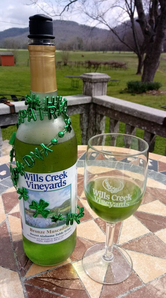 Wills Creek Vineyards St. Patrick'S Day Wine