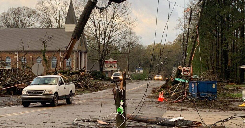 Alabama accessing St. Patrick's Day tornado + flood damage