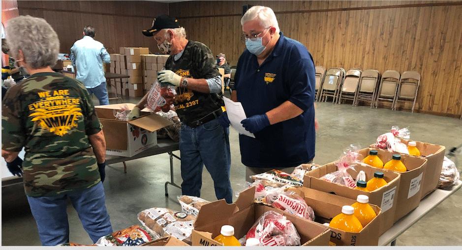 United Way Hands On Feeding Others Volunteering