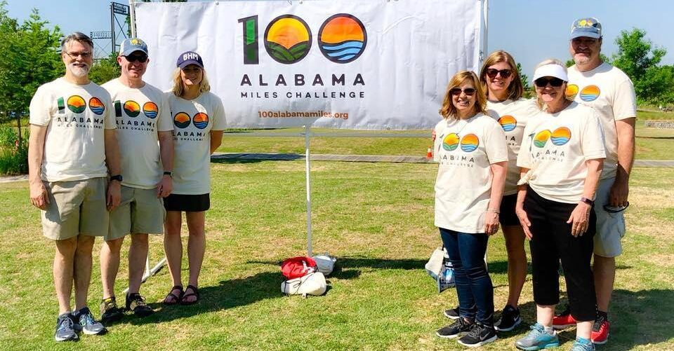Join the 100 Alabama Miles Challenge on Celebrate Trails Day