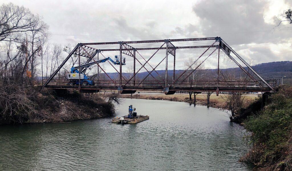 Singing River Trial Bridge Aldridge Creek
