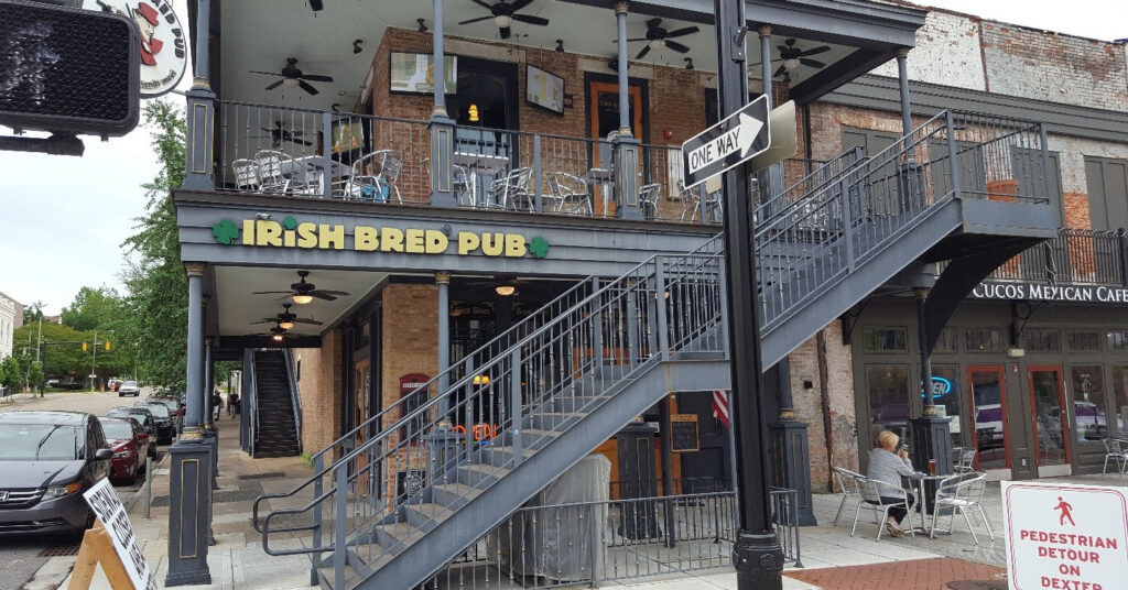 5 outdoor dining spots in Montgomery, including Irish Bred Pub