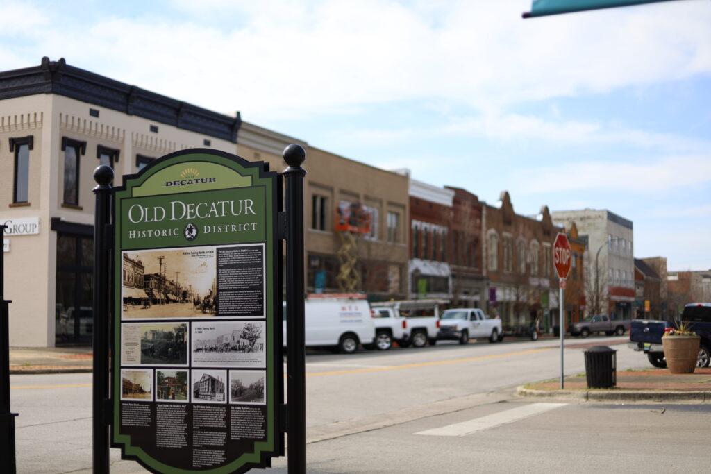Old Decatur Historic District