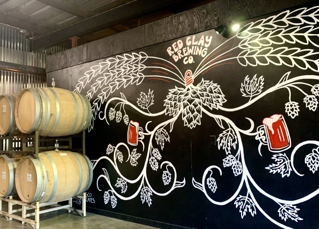 Inside Red Clay Brewing Co