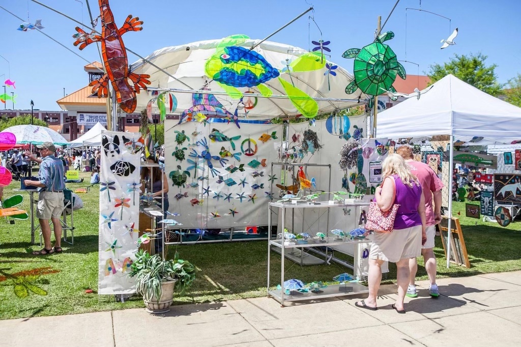 The Druid City Arts Festival Is On May 14Th And 15Th This Year. Photo Via Druid City Arts Festival'S Facebook.