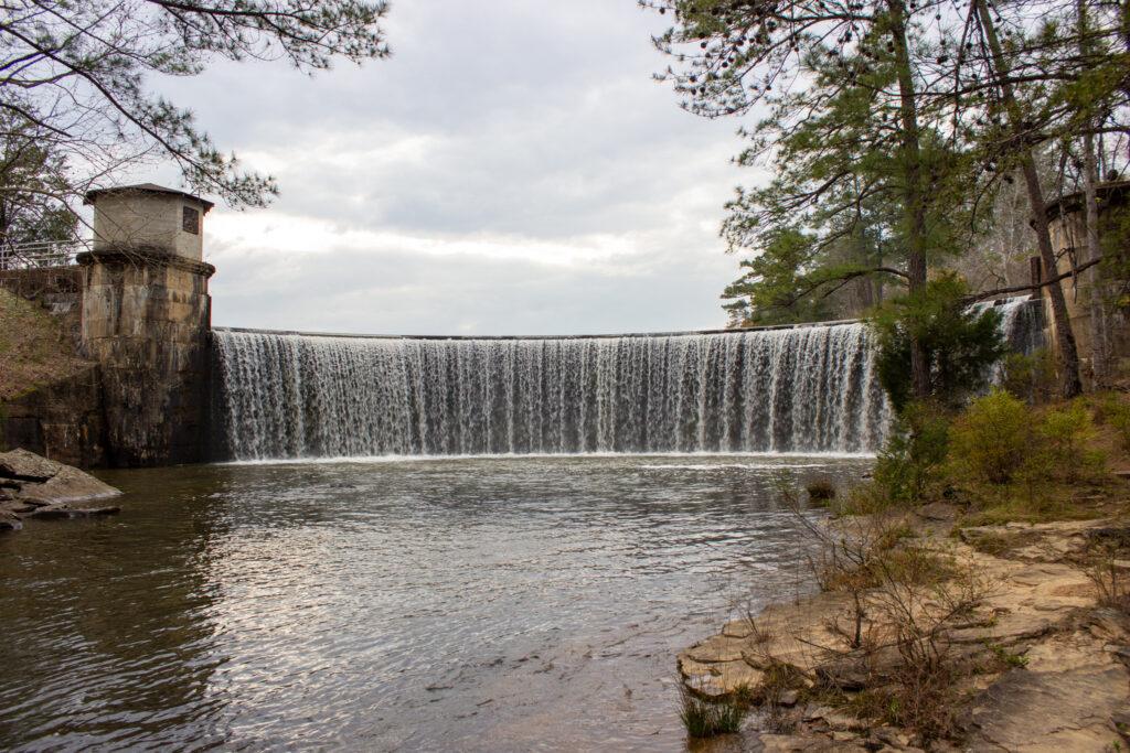 The Spillway At Lake Harris.