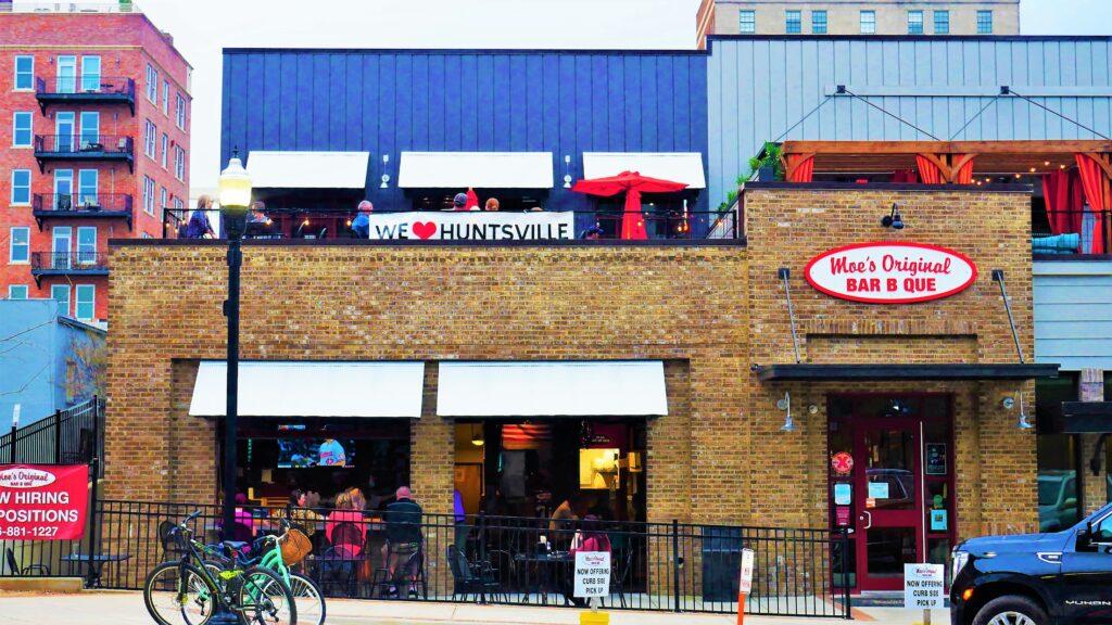 Moes Street View 3 Day Out, Martin Bar &Amp; Bistro, Moe'S Original Bbq Huntsville, Nightout, Pourhouse, Rhythm On Monroe, Stella'S Elixir Lounge