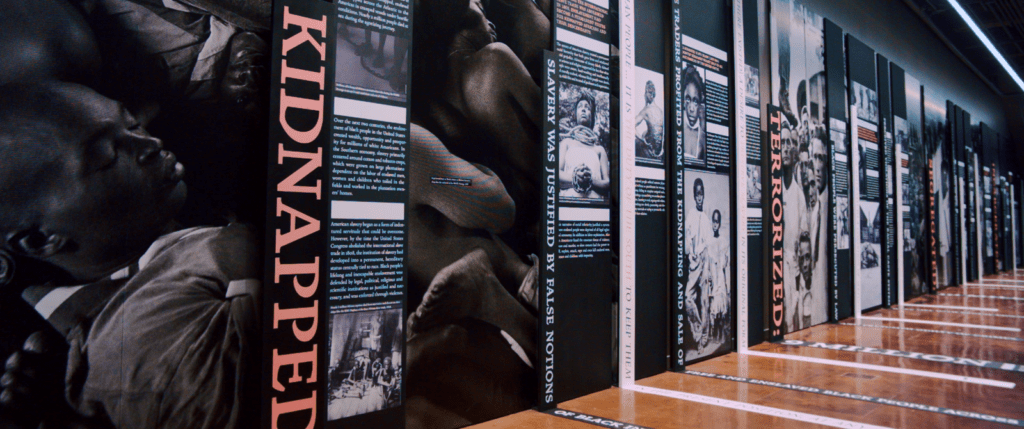 Museum Slavery Evolved Wall Home 0 Equal Justice Initiative, Legacy Museum, Montgomery, Montgomery Museum Of Fine Arts