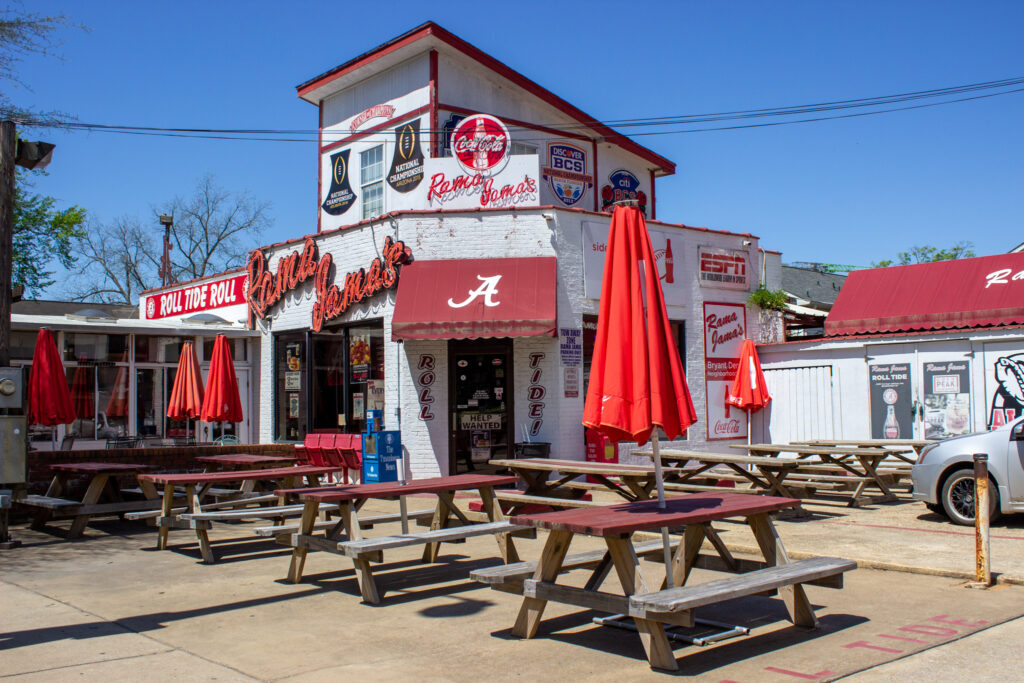 7 Outdoor Dining Spots in Tuscaloosa, including Rama Jama's