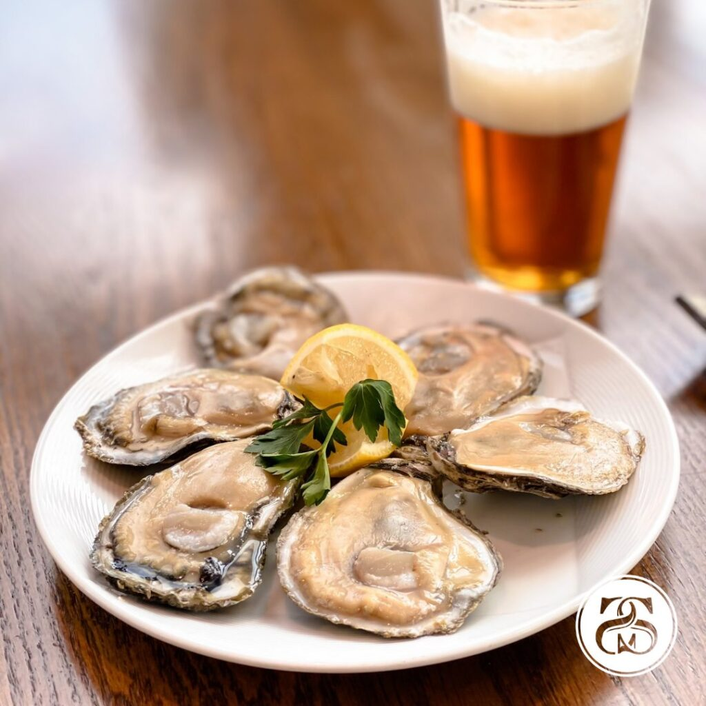 Side By Side Has Super Tasty Oysters!