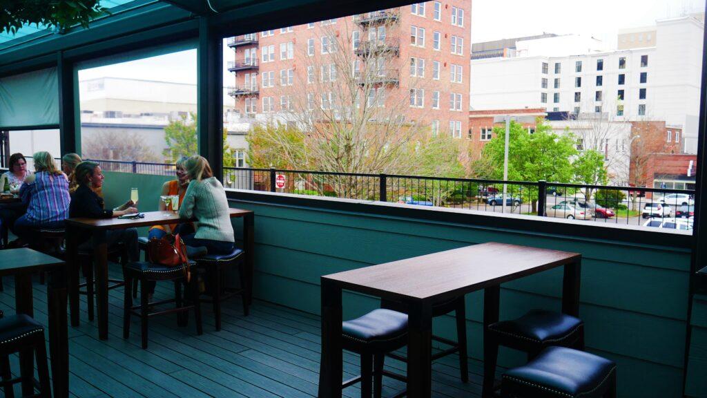 Stellas Back Roof Top Day Out, Martin Bar &Amp; Bistro, Moe'S Original Bbq Huntsville, Nightout, Pourhouse, Rhythm On Monroe, Stella'S Elixir Lounge