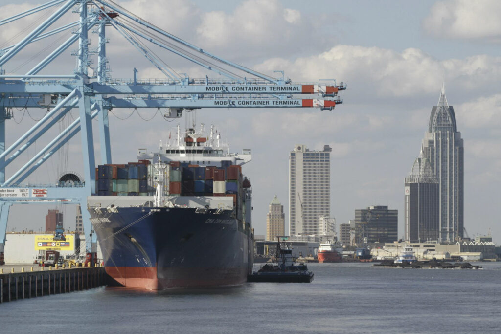 5.7M modernization project in the works for Port of Mobile