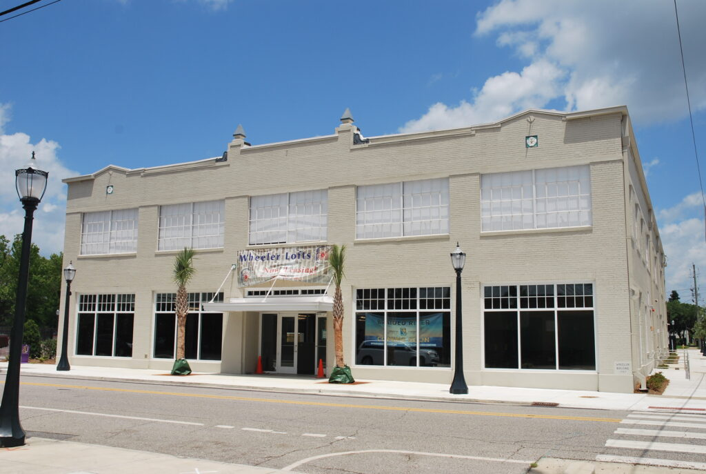 Wheeler Building St. Louis Street Mobile Historical Mobile