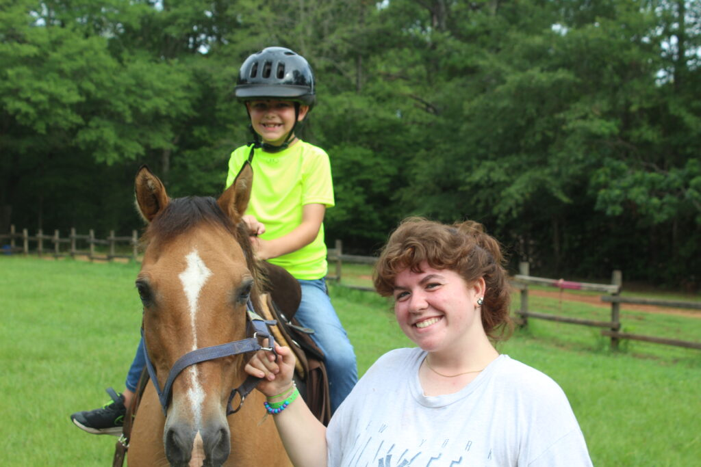 Horsin' Around At Camp Cosby! Photo Courtesy Of Camp Cosby.
