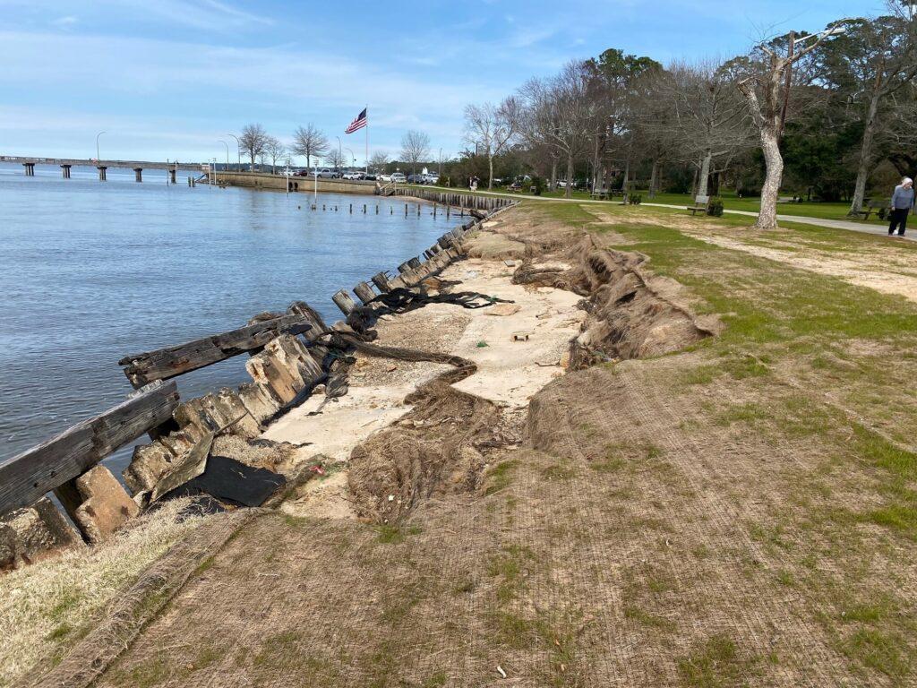 Hurricane Zeta Damage Fairhope Pier, Working Waterfront
