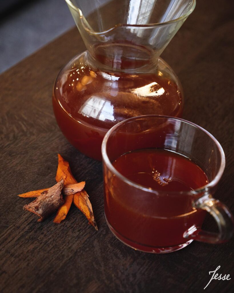 Tea From Foraging
