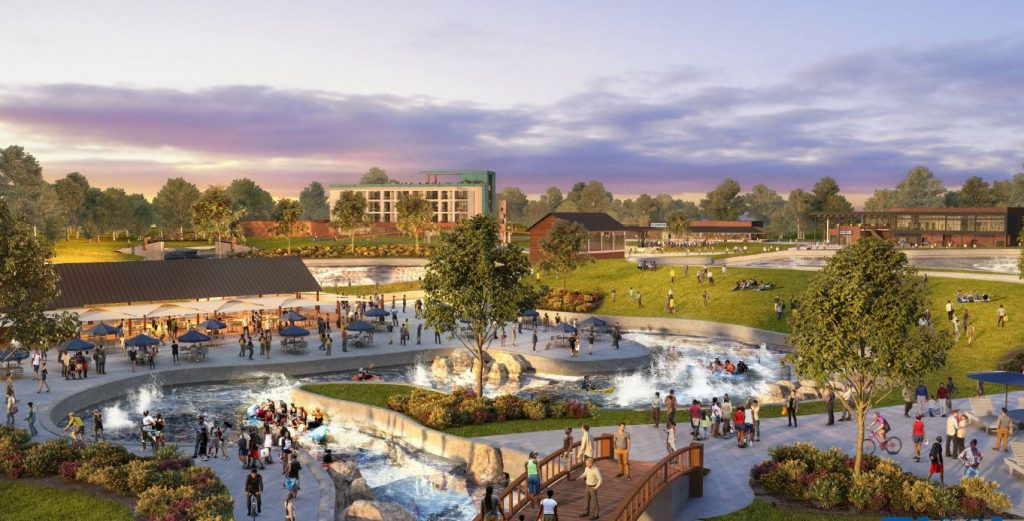 Montgomery Whitewater project breaks ground with ceremony on June 10
