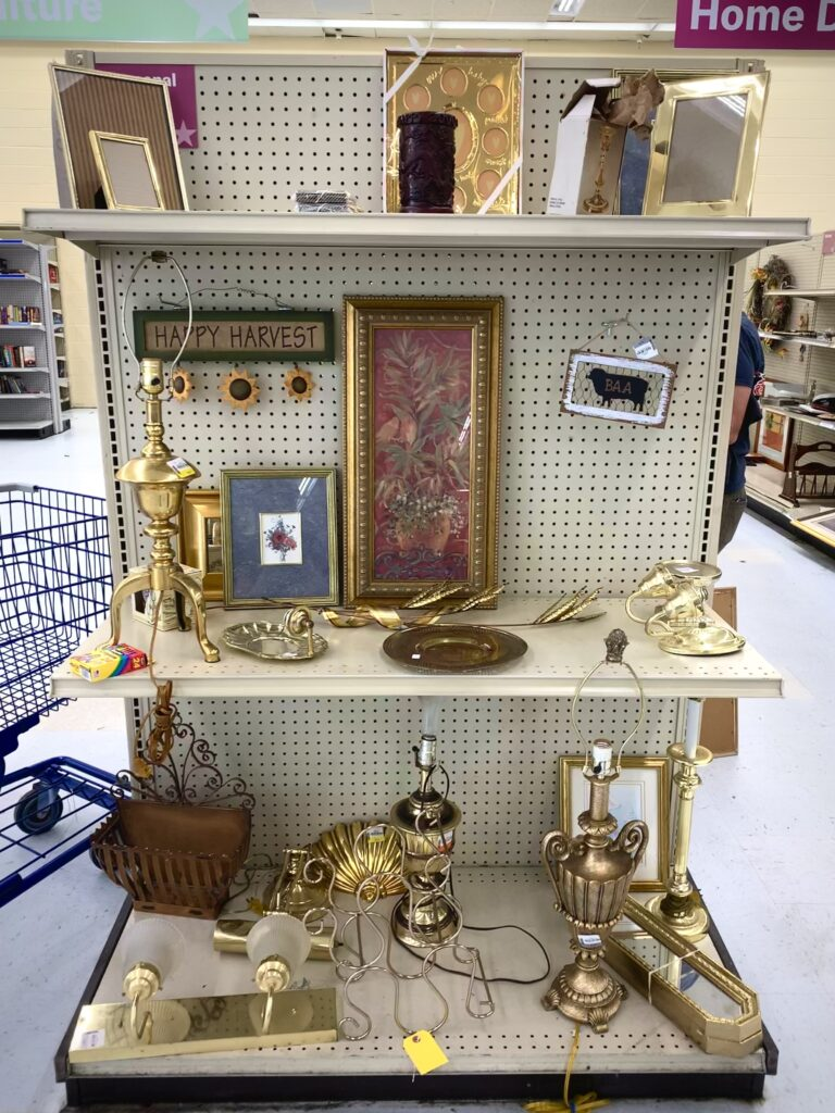 Antiques At America'S Thrift