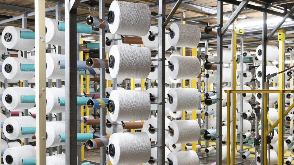 Rolls, Rolls, And More Rolls. An Inside Look Into The New Roanoke Yarn Facility That Has Created 130+ New Alabama Jobs.