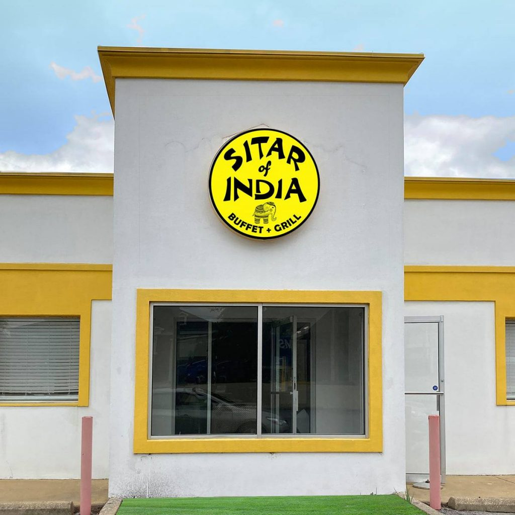 The Front Of Sitar'S Future Location! Photo Via Sitar Of India'S Facebook.