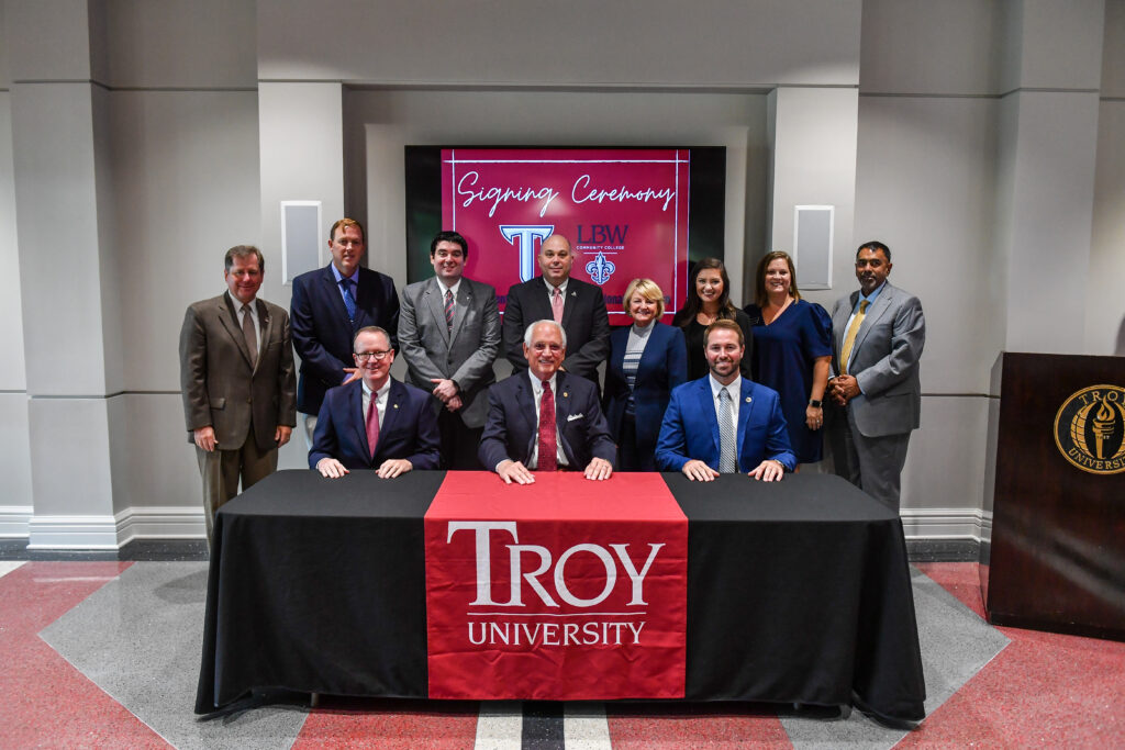 Troy and LBWCC's practical agreement to help transfer students