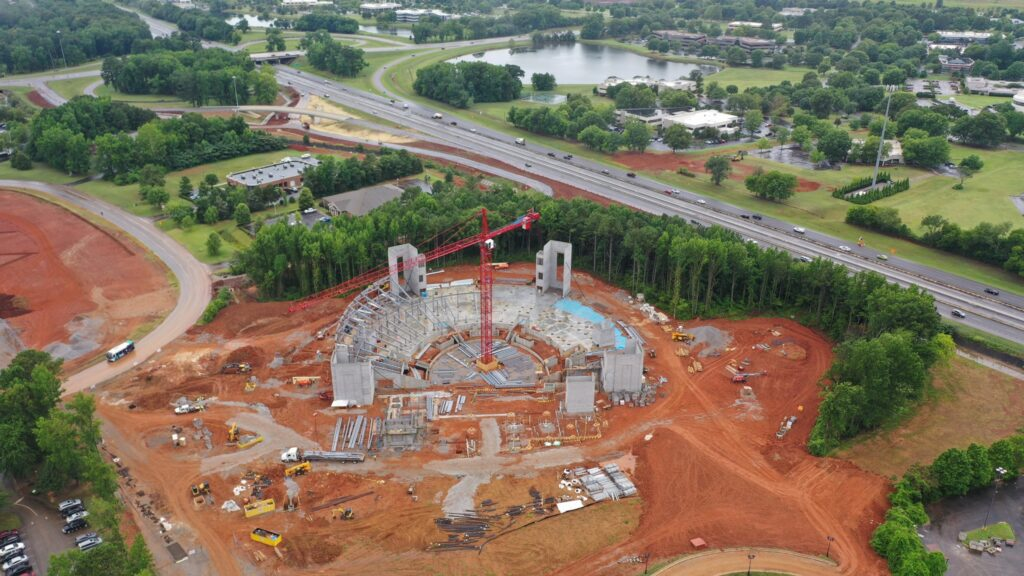 5 major construction projects underway in Huntsville, including MidCity District