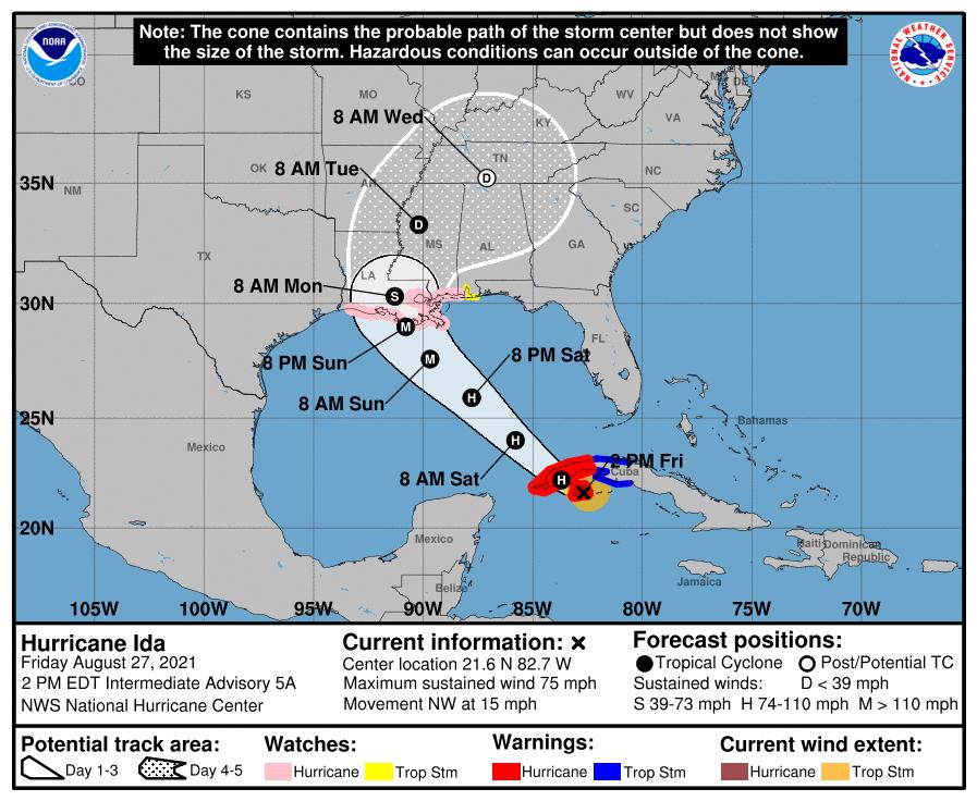 Prepare for Hurricane Ida like a Mobilian