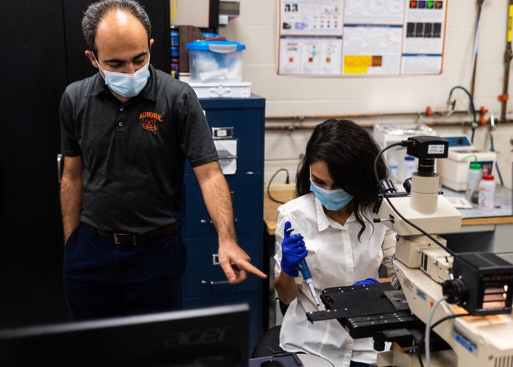 Auburn researchers create device delivering instant COVID-19 test results