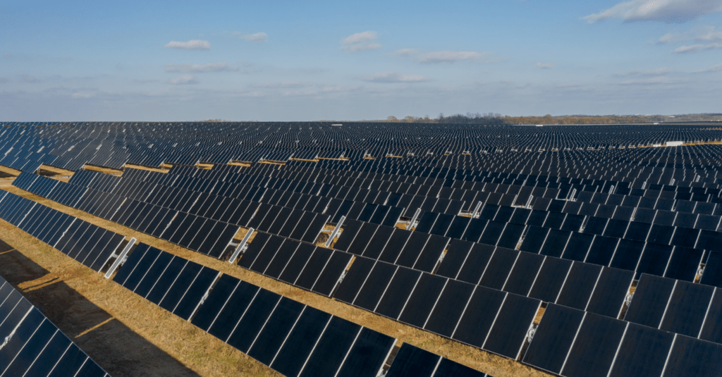 670,000 solar panels in Colbert County support Facebook data center